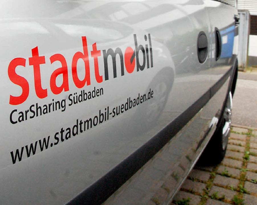 Diesen Schriftzug hätte das Carsharing-Auto in Au.   | Foto: Lauber