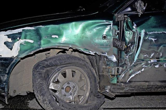 Unfall beim Überholen