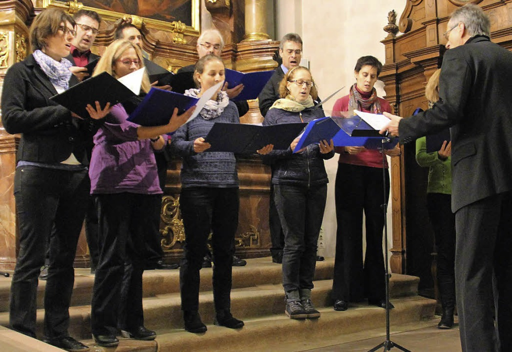 Adventskonzert Waldkirch; A-Capella-Chor Kenzingen.  | Foto: Gerda Oswald