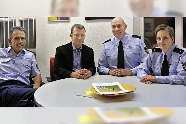 Polizei im Kreis fühlt sich sehr gefordert