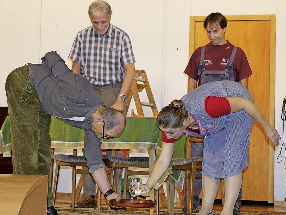 Schwierige Vorbereitungen  für den Empfang der Erbtante   | Foto: A. Mutz