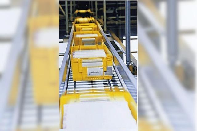 Internethandel sorgt für Zusatzarbeit im Briefzentrum Offenburg