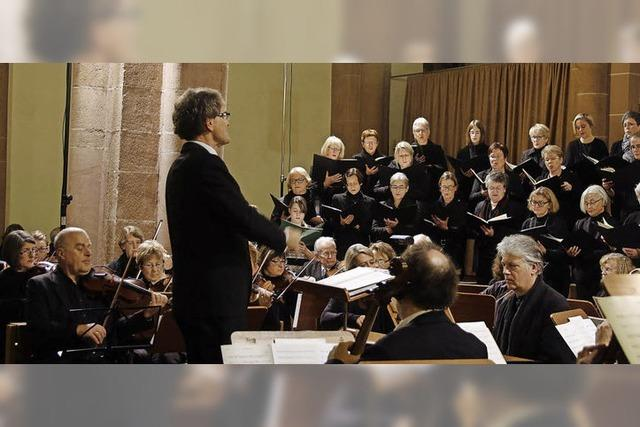 Bach lässt kurz und heftig freuen
