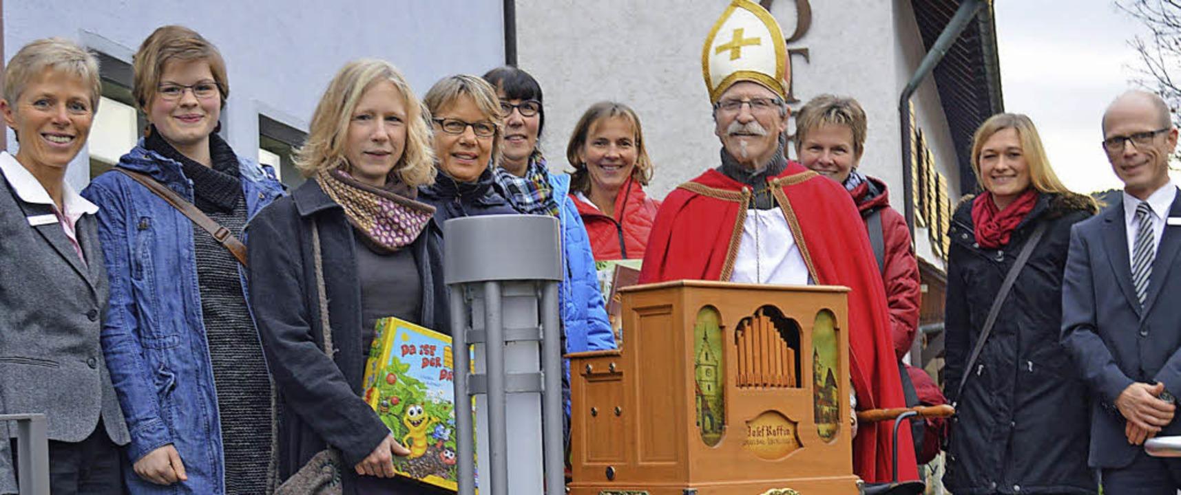 Maria Demattio (links) und Thomas Brec...Feis und Katja Schweizer (von links).     Foto: Gerhard Lück