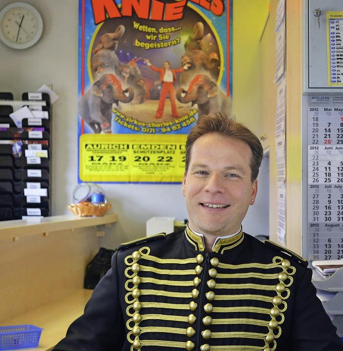 Zirkusdirektor Sascha Melnjak   | Foto: Circus