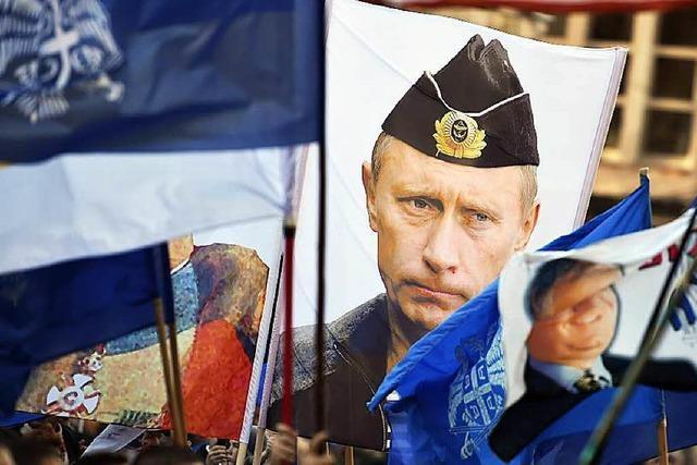 Die Nato wird von Putin als Bedrohung eingestuft