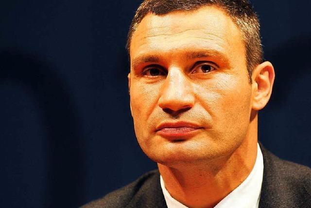 Klitschko will Kiew zur Radstadt machen