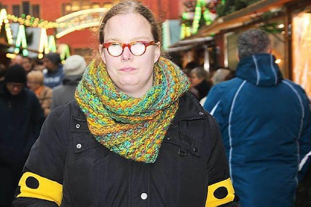Wie eine Blinde den Freiburger Weihnachtsmarkt erlebt