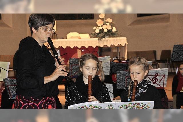 Bekannte Lieder in der Bergkirche