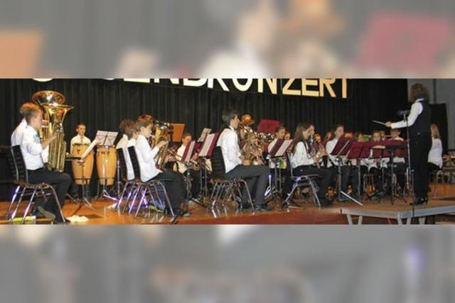 Junge Musiker zeigen, was sie können