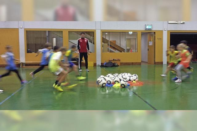Spaß am Fußballspielen