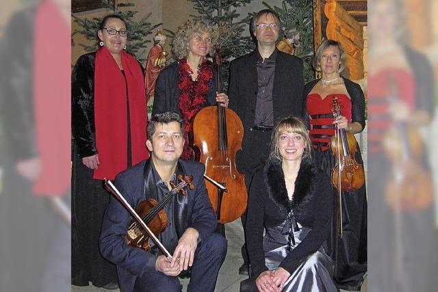 Ensemble Odeon spielt in der Kirche St. Michael