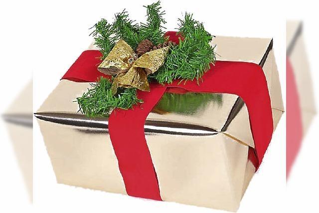 GESCHENKT: Merry Christmas aus der Spieldose