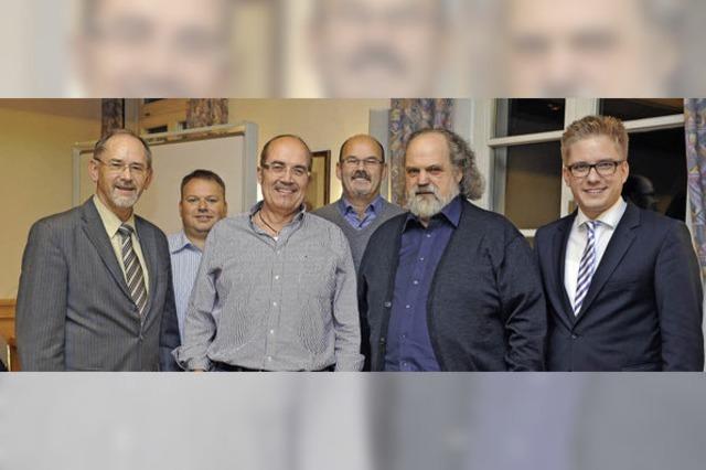 25 Jahre Rat: Fix, Debacher und Scherer