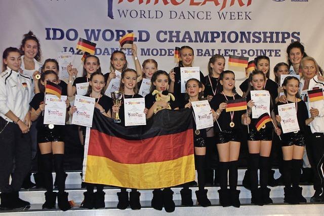 Jazztanz-Formation holt Weltmeistertitel