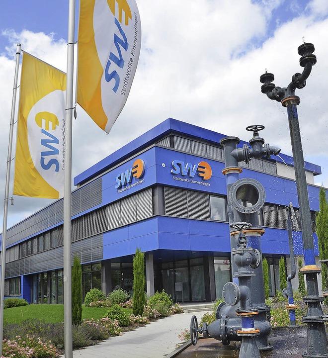 Die Stadtwerke erweitern im kommenden ...am Gaswerk für insgesamt 300000 Euro.     Foto: Gerhard Walser