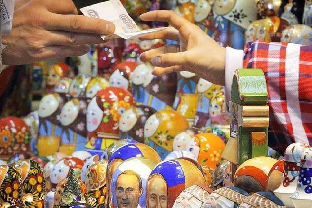 Angst vor hoher Inflation: Kaufrausch in Moskau