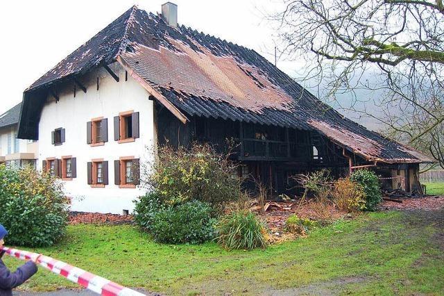 Nitzhof-Brand: Laut Polizei keine Anhaltspunkte für technischen Defekt