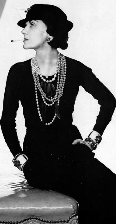 Coco Chanel Eine Mode Ikone Schülertexte Badische Zeitung
