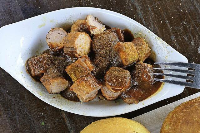 Currywurst mit vier Sternen