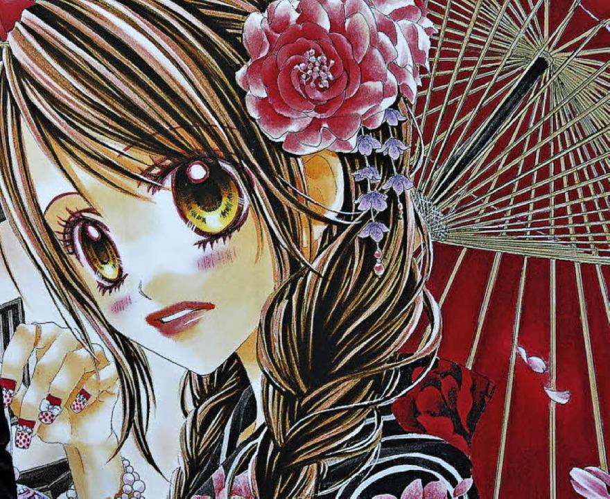 Kindchenschema: Großer Kopf und Kuller...arakteristisch für Mangas und Animes.   | Foto: dpa