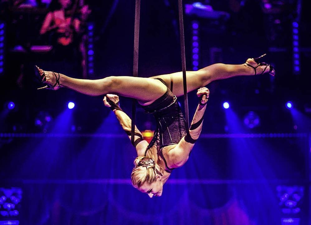 Artistik und Klamauk: Auf der Messe Of...bietet der Zirkus Charles Knie beides.  | Foto: Alexis Jehl/Charles Knie