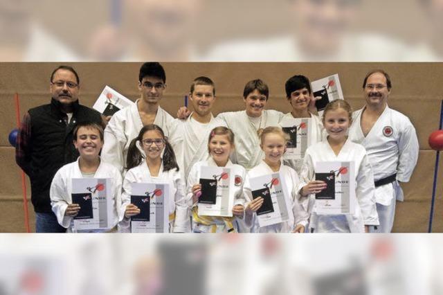 Erfolgreiche Karatekas