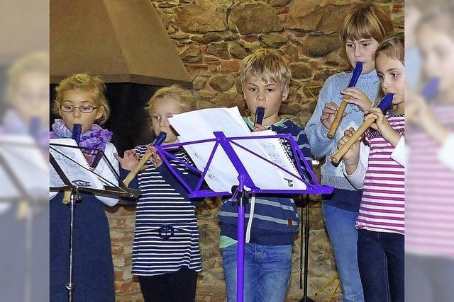 Mit Flöte, Saxofon und Klarinette