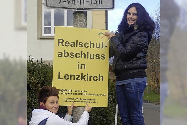 Gespräche mit Lenzkirch Anfang März
