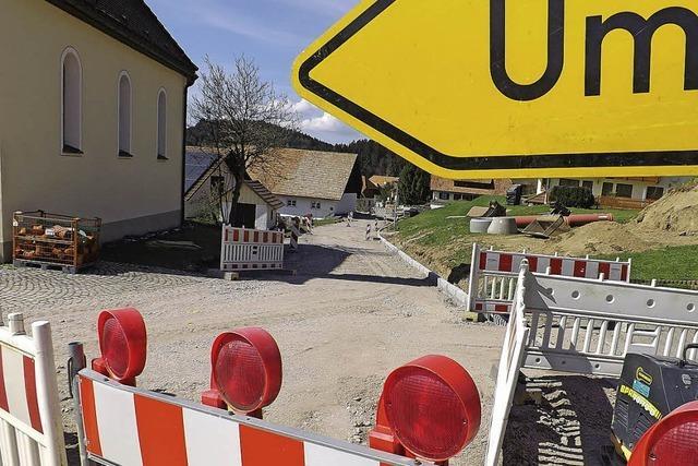 Baustopp-Kritik stört Christof Berger
