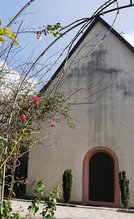 Von außen ganz schlicht – die Johanneskapelle  | Foto: Barbara Riess