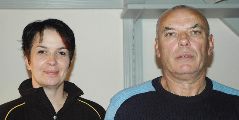 Simone und Emil Dejanovic sind die neu...vom Gasthaus Jägerstüble in Todtmoos.     Foto: Fotos: Christiane Sahli