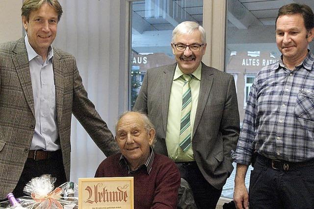 Mit 82 Jahren in den Ruhestand