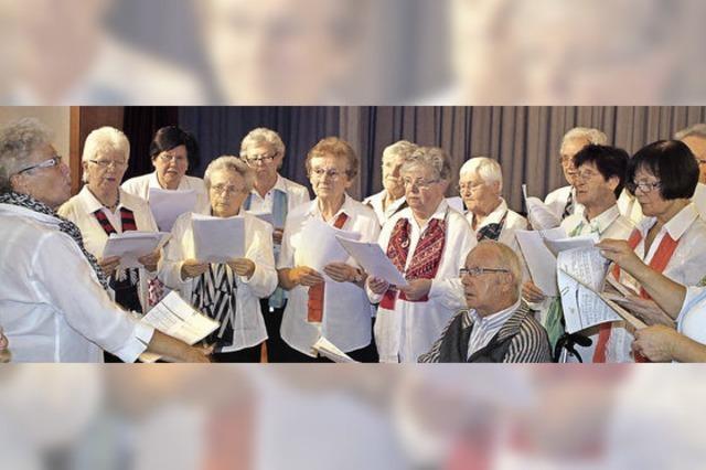 Frauenüberschuss bei der Adventsfeier