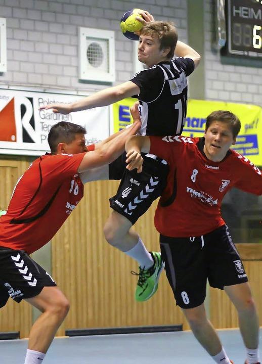 Der junge Robin Dittrich steht mit für...wicklung des Teams vom TuS Ottenheim.   | Foto: Archibild: Peter Aukthun