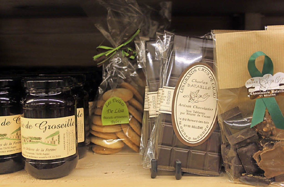 Produkte des Chocolatier Charles Bataille sind weithin bekannt.  | Foto: Jutta Binner-Schwarz
