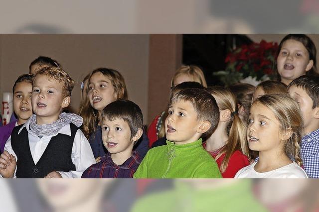 Schulchor gibt schon Kirchenkonzert