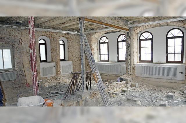 Das Waldkircher Rathaus wird umgebaut
