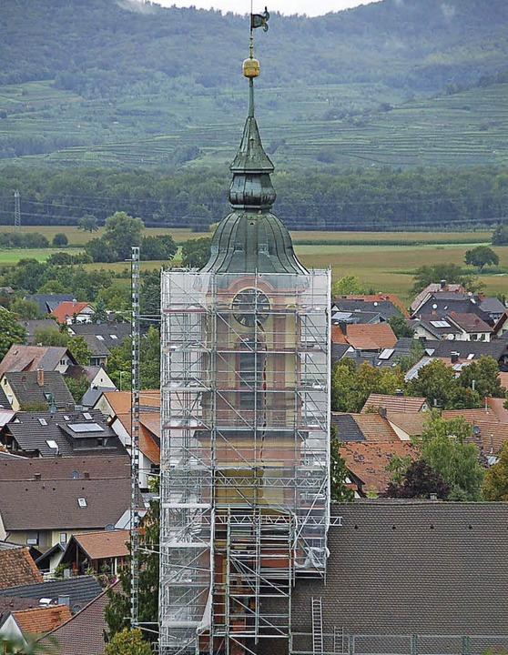 Mit 210000 Euro beteiligt sich die Gem...ingen an der Sanierung des Kirchturms.    Foto: Sebastian Ehret