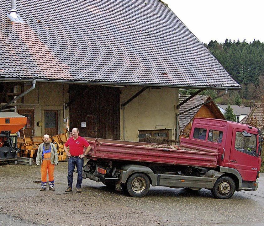 Die größte Investition der Gemeinde Gl...Gemeinde mit 80 000 Euro beteiligen.    | Foto: Christian Ringwald / Max Schuler