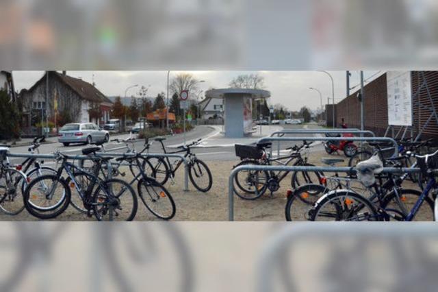 Fahrradplätze werden neu geplant