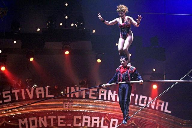 Der Circus legt los