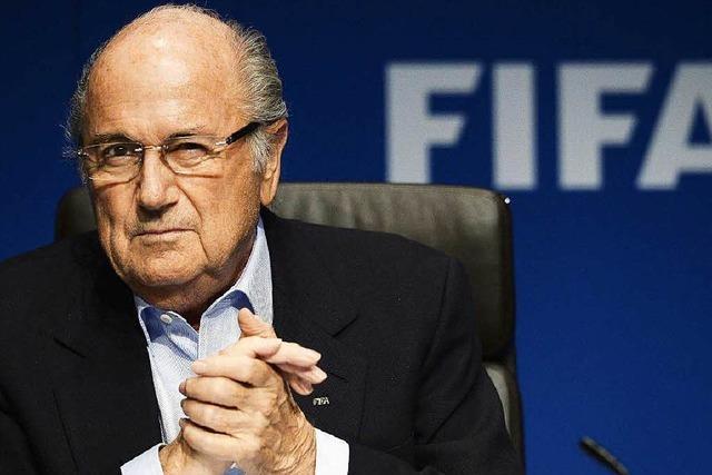 Fifa-Chef Blatter im Kreuzfeuer der Kritik