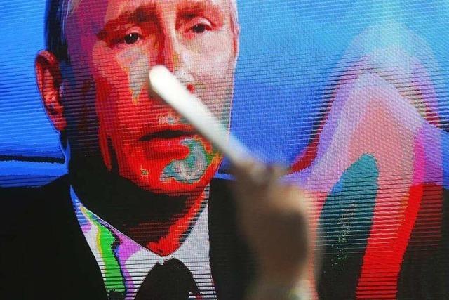 Putin schwört Russland auf harte Zeiten ein