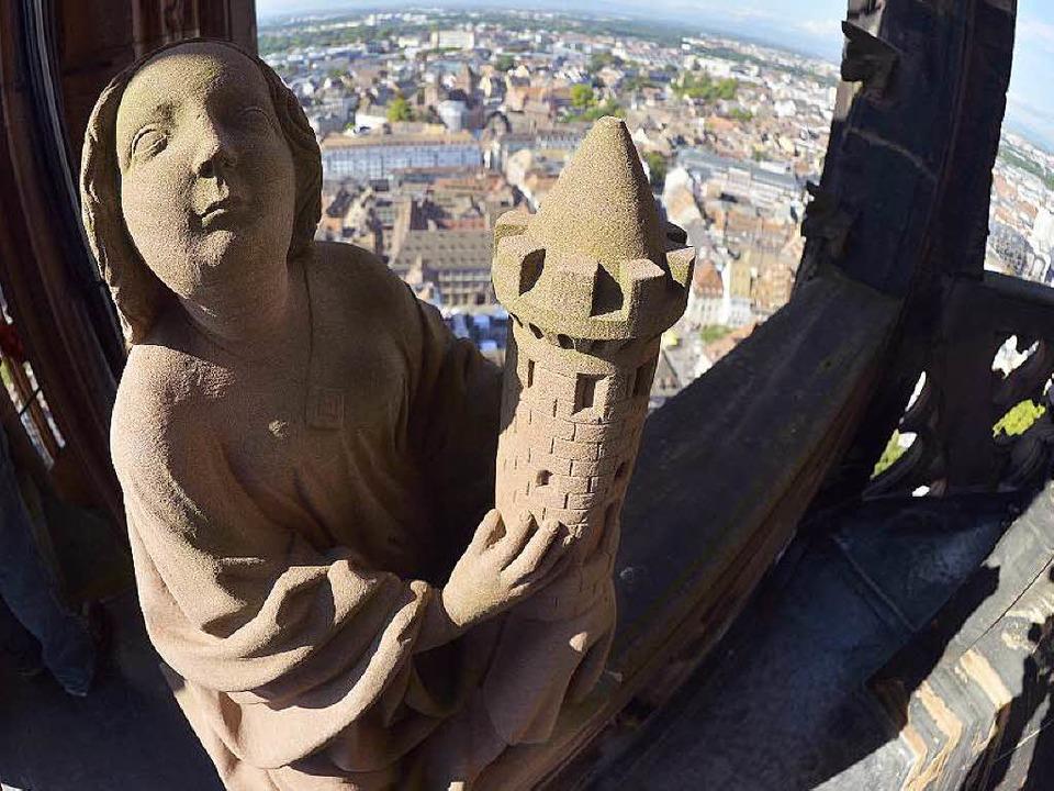 Denkwürdiges Jubiläum:  1000 Jahre Straßburger Münster.  | Foto: PATRICK HERTZOG