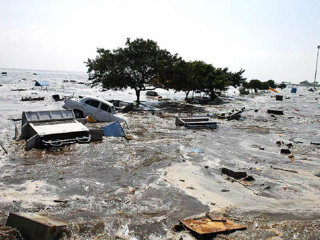 Tsunami Echte Bilder