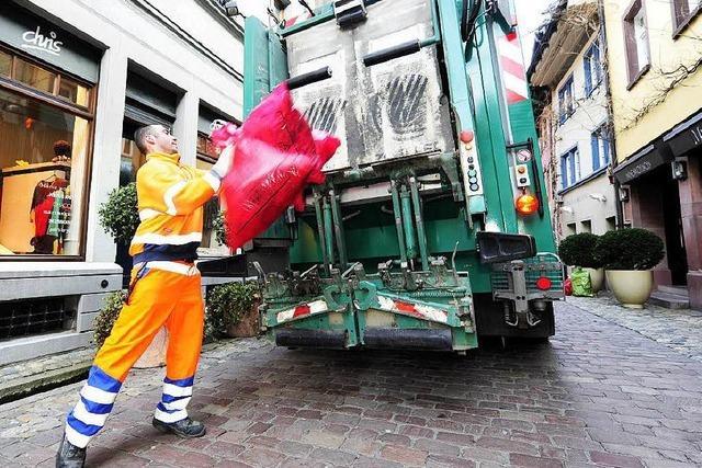 So ändern sich in Freiburg die Müllabfuhrtermine über Weihnachten