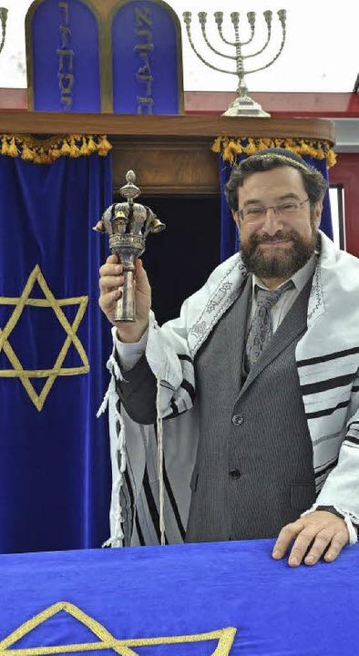 Rabbiner Moshe Navon setzt auf den interreligiösen Dialog.    Foto: Walser