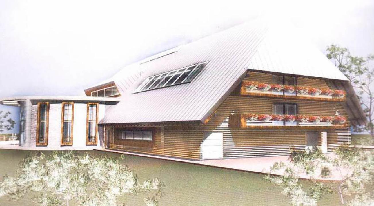 Ein modern gestalteter Schwarzwaldhof ...rs Vision gibt es bereits erste Pläne.  | Foto: Privat