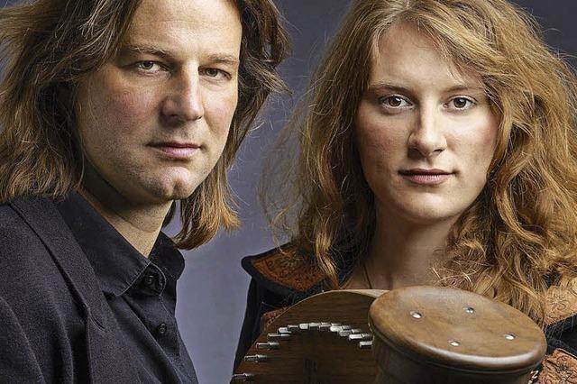 Andy Lang und Juditz Förster im Schloss Beuggen in Rheinfelden